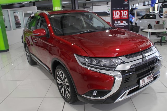 Discounted Demonstrator, Demo, Near New Mitsubishi Outlander Exceed AWD, Bowen Hills, 2021 Mitsubishi Outlander Exceed AWD Wagon