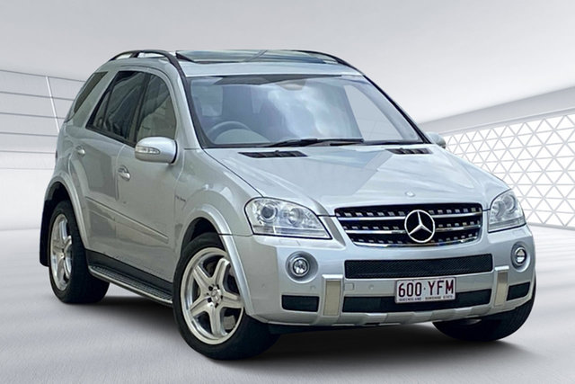 Used Mercedes-Benz ML63 AMG (4x4), Moorooka, 2007 Mercedes-Benz ML63 AMG (4x4) Wagon