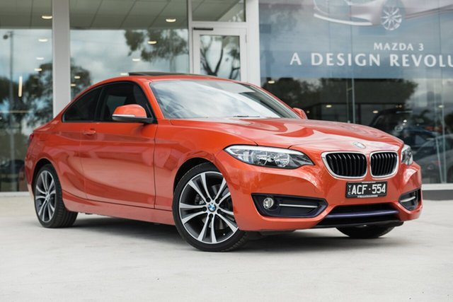 Used BMW 220i Sport Line, Mulgrave, 2014 BMW 220i Sport Line F22 Coupe