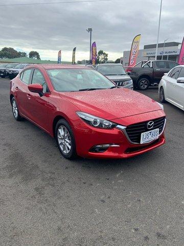 Used Mazda 3 Maxx SKYACTIV-Drive, Warrnambool East, 2017 Mazda 3 Maxx SKYACTIV-Drive Sedan