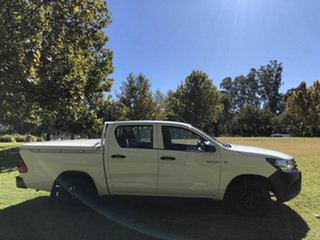 2016 Toyota Hilux Workmate Double Cab 4x2 Utility.