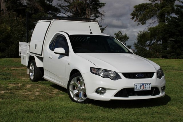 Used Ford Falcon XR6 Super Cab, Officer, 2010 Ford Falcon XR6 Super Cab Cab Chassis