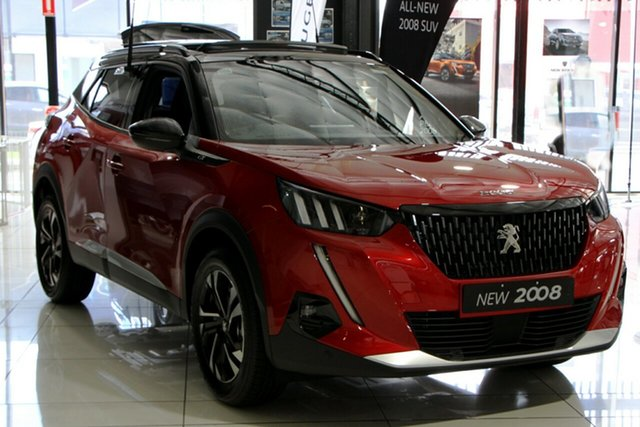 Discounted Demonstrator, Demo, Near New Peugeot 2008 GT, Bowen Hills, 2020 Peugeot 2008 GT Wagon