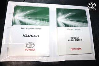 2014 Toyota Kluger Grande AWD Wagon.