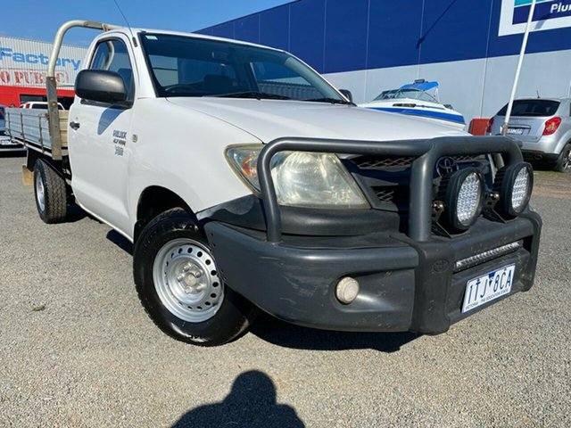 Used Toyota Hilux Workmate, Hoppers Crossing, 2005 Toyota Hilux Workmate Cab Chassis