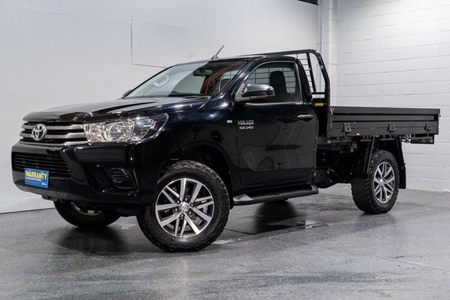 Used Toyota Hilux SR (4x4), Slacks Creek, 2018 Toyota Hilux SR (4x4) Cab Chassis