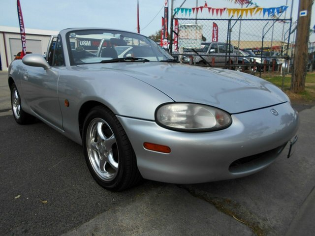 Discounted Used Mazda MX-5, Werribee, 1999 Mazda MX-5 Convertible