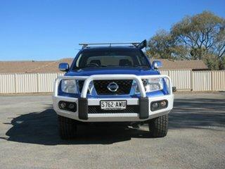 2012 Nissan Navara ST-X 550 (4x4) Dual Cab Utility.