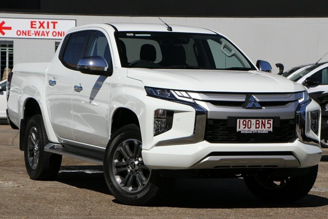 Discounted Demonstrator, Demo, Near New Mitsubishi Triton GLS Double Cab, Bowen Hills, 2021 Mitsubishi Triton GLS Double Cab Utility