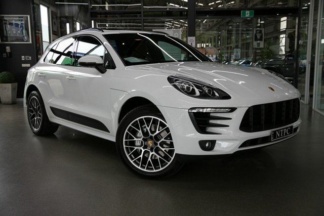 Used Porsche Macan S PDK AWD, North Melbourne, 2014 Porsche Macan S PDK AWD Wagon