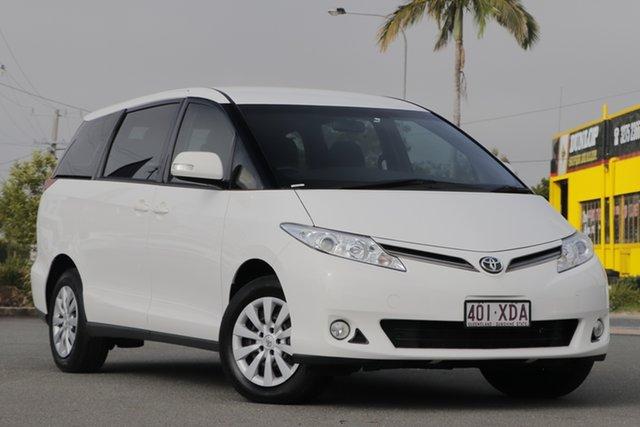 Used Toyota Tarago GLi, Bowen Hills, 2017 Toyota Tarago GLi Wagon