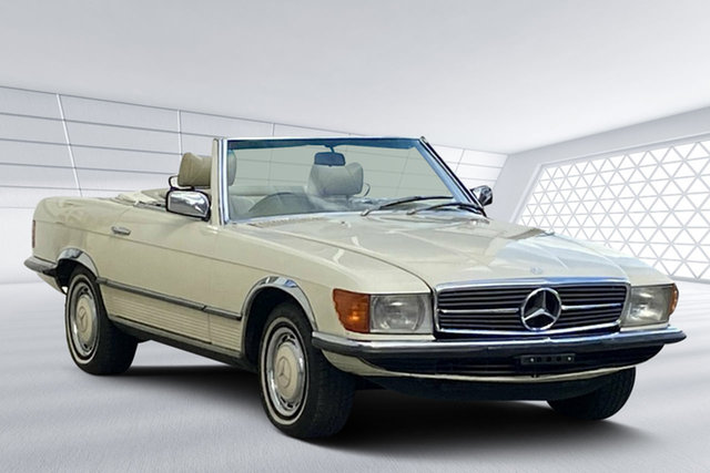 Used Mercedes-Benz 450 SL, Moorooka, 1976 Mercedes-Benz 450 SL Convertible