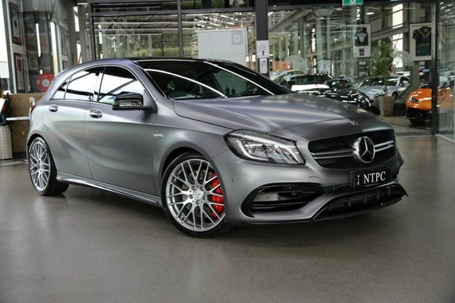 Used Mercedes-Benz A-Class A45 AMG SPEEDSHIFT DCT 4MATIC, North Melbourne, 2018 Mercedes-Benz A-Class A45 AMG SPEEDSHIFT DCT 4MATIC Hatchback
