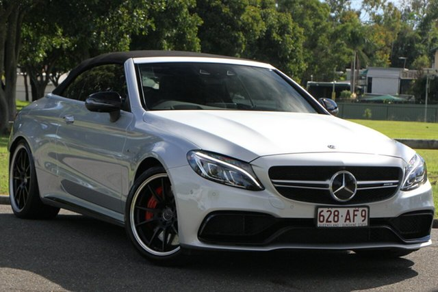 Used Mercedes-Benz C-Class C63 AMG SPEEDSHIFT MCT S, Bowen Hills, 2018 Mercedes-Benz C-Class C63 AMG SPEEDSHIFT MCT S Cabriolet