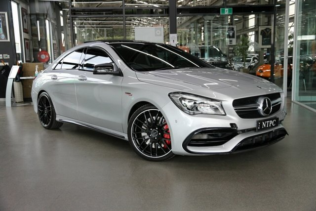 Used Mercedes-Benz CLA-Class CLA45 AMG SPEEDSHIFT DCT 4MATIC, North Melbourne, 2017 Mercedes-Benz CLA-Class CLA45 AMG SPEEDSHIFT DCT 4MATIC Coupe