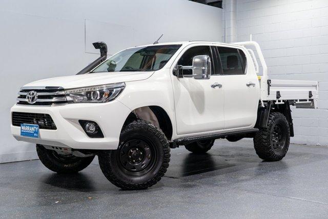 Used Toyota Hilux SR5 (4x4), Slacks Creek, 2017 Toyota Hilux SR5 (4x4) Dual Cab Utility