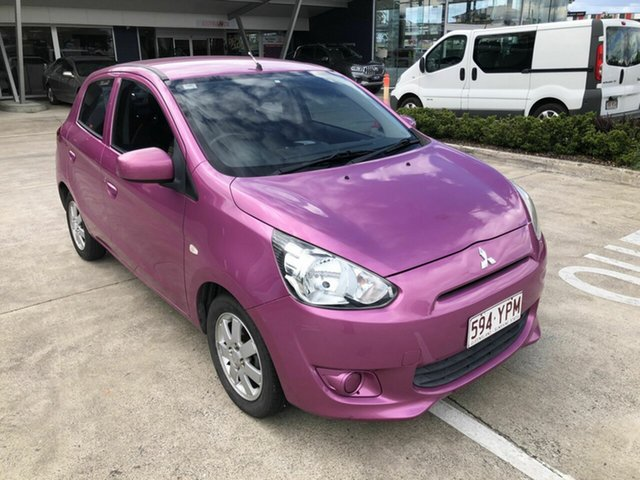 Discounted Used Mitsubishi Mirage ES, Yamanto, 2013 Mitsubishi Mirage ES Hatchback