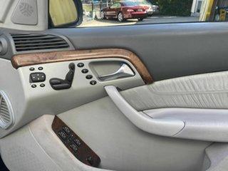 1999 Mercedes-Benz S430 L Sedan.