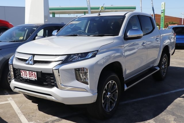 Discounted Demonstrator, Demo, Near New Mitsubishi Triton GLX-R Double Cab, Bowen Hills, 2021 Mitsubishi Triton GLX-R Double Cab Utility