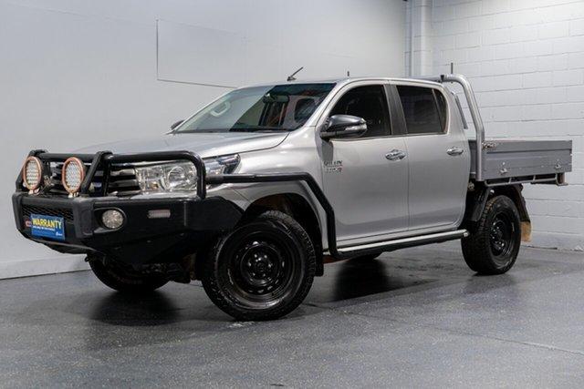 Used Toyota Hilux SR (4x4), Slacks Creek, 2015 Toyota Hilux SR (4x4) Dual Cab Chassis