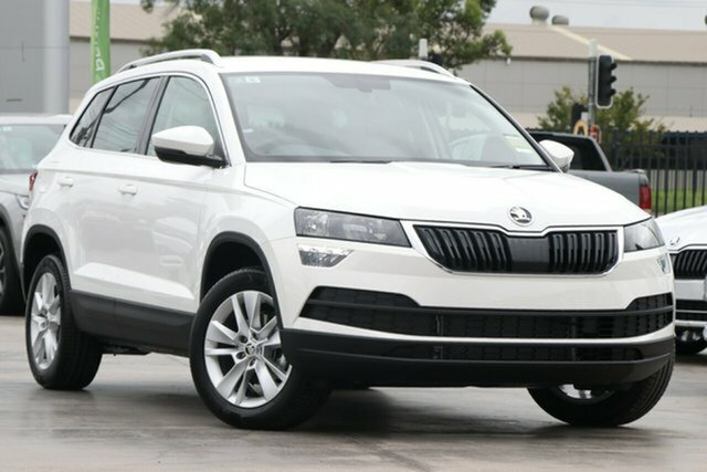 Discounted Demonstrator, Demo, Near New Skoda Karoq 110TSI FWD, Bowen Hills, 2021 Skoda Karoq 110TSI FWD Wagon