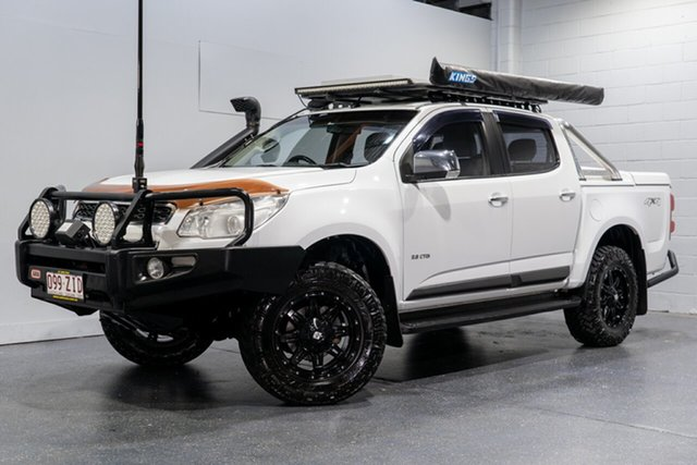 Used Holden Colorado LTZ (4x4), Slacks Creek, 2012 Holden Colorado LTZ (4x4) Crew Cab Pickup