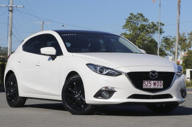 Used Mazda 3 SP25 SKYACTIV-Drive GT, Bowen Hills, 2016 Mazda 3 SP25 SKYACTIV-Drive GT Hatchback