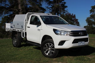 2017 Toyota Hilux SR Cab Chassis.
