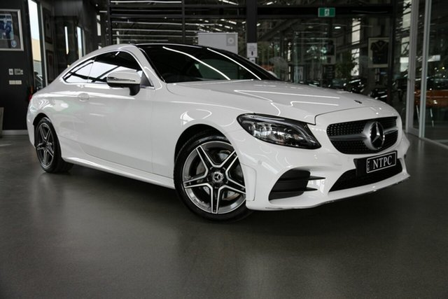 Used Mercedes-Benz C-Class C200 9G-Tronic, North Melbourne, 2020 Mercedes-Benz C-Class C200 9G-Tronic Coupe