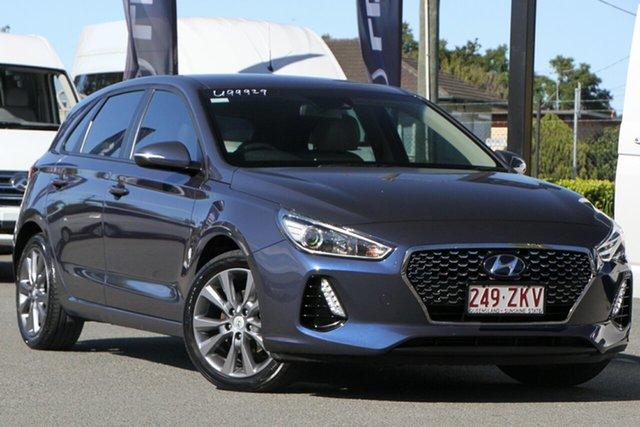 Used Hyundai i30 Elite D-CT, Bowen Hills, 2017 Hyundai i30 Elite D-CT Hatchback