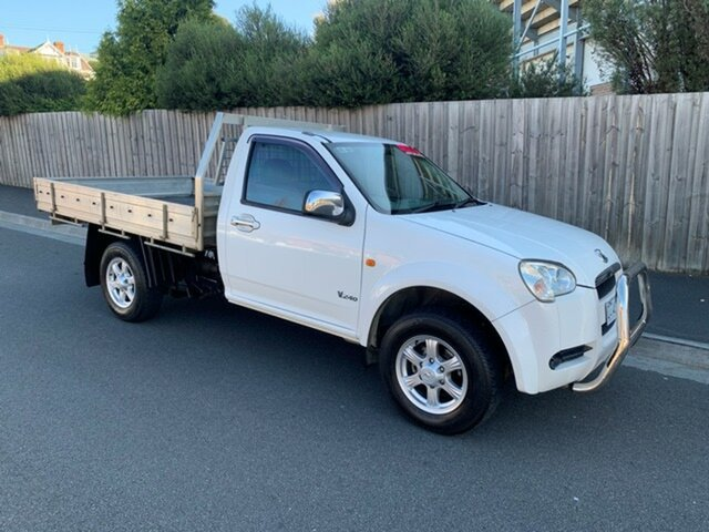 Used Great Wall V240 (4x2), North Hobart, 2010 Great Wall V240 (4x2) Cab Chassis