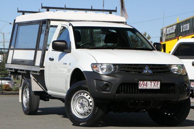 Used Mitsubishi Triton GL 4x2, Bowen Hills, 2013 Mitsubishi Triton GL 4x2 Cab Chassis