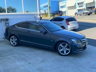 2012 Mercedes-Benz C250 BE Coupe.