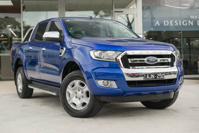 Used Ford Ranger XLT 3.2 (4x4), Mulgrave, 2015 Ford Ranger XLT 3.2 (4x4) PX MkII Double Cab Pick Up