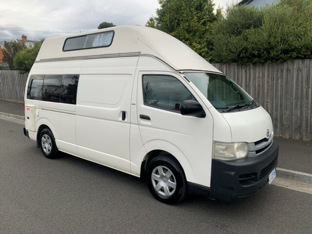 Used Toyota HiAce Commuter, North Hobart, 2008 Toyota HiAce Commuter Bus