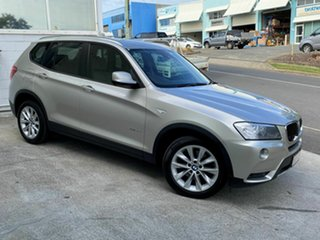 2013 BMW X3 xDrive20d Wagon.