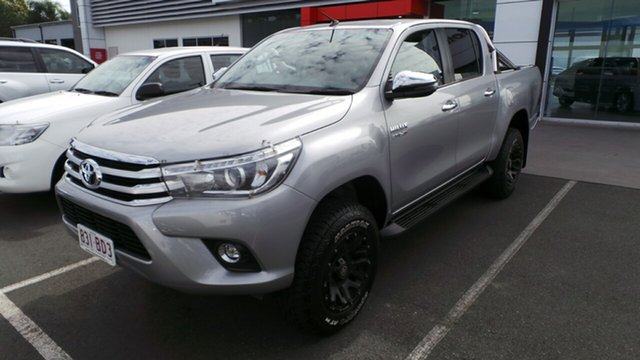 Used Toyota Hilux SR5 Double Cab, Morayfield, 2018 Toyota Hilux SR5 Double Cab Utility