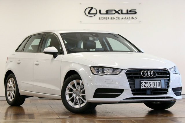 Used Audi A3 Attraction Sportback S Tronic, Adelaide, 2015 Audi A3 Attraction Sportback S Tronic Hatchback