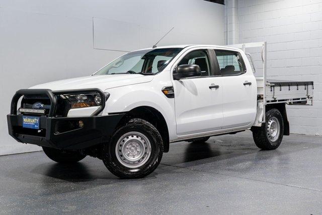 Used Ford Ranger XL 2.2 (4x4), Slacks Creek, 2017 Ford Ranger XL 2.2 (4x4) Crew Cab Chassis