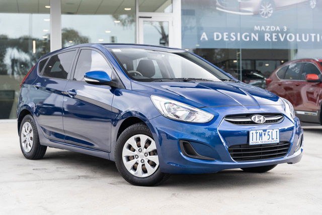 Used Hyundai Accent Active, Mulgrave, 2016 Hyundai Accent Active RB4 MY16 Hatchback