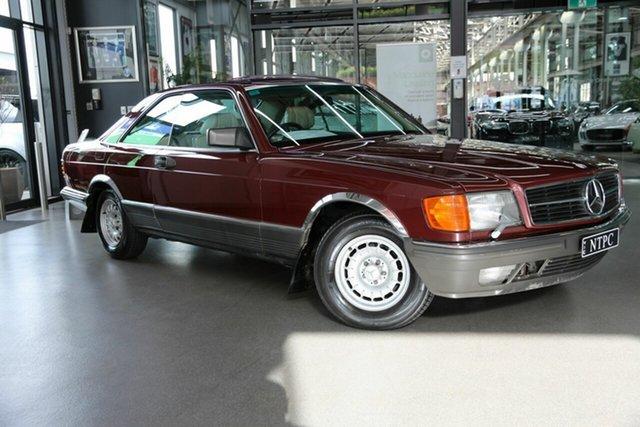 Used Mercedes-Benz 380SEC, North Melbourne, 1985 Mercedes-Benz 380SEC Coupe