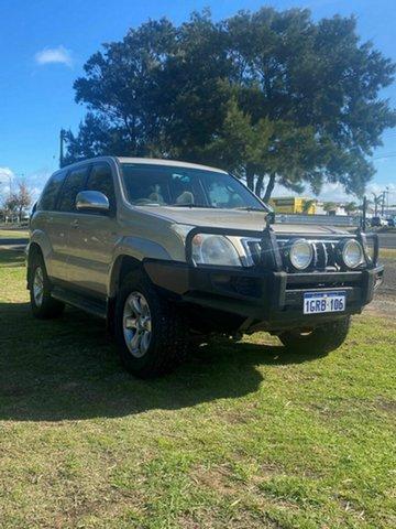 Used Toyota Landcruiser Prado VX (4x4), Rockingham, 2008 Toyota Landcruiser Prado VX (4x4) Wagon