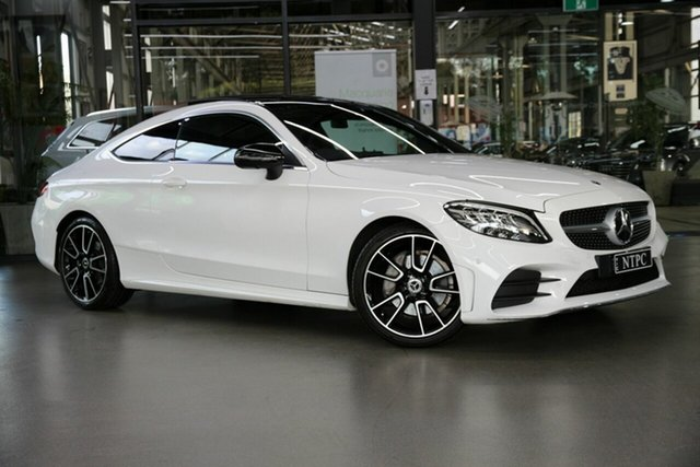Used Mercedes-Benz C-Class C200 9G-Tronic, North Melbourne, 2019 Mercedes-Benz C-Class C200 9G-Tronic Coupe