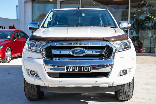 Used Ford Ranger XLT 3.2 Hi-Rider (4x2), Mulgrave, 2016 Ford Ranger XLT 3.2 Hi-Rider (4x2) PX MkII Crew Cab Pickup