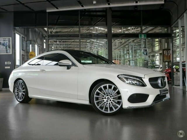 Used Mercedes-Benz C-Class C300 9G-Tronic, North Melbourne, 2017 Mercedes-Benz C-Class C300 9G-Tronic Coupe