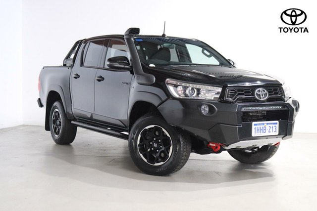 Used Toyota Hilux Rugged X Double Cab, Northbridge, 2019 Toyota Hilux Rugged X Double Cab Utility