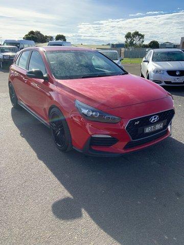 Used Hyundai i30 N Performance, Warrnambool East, 2018 Hyundai i30 N Performance Hatchback