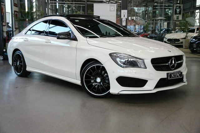 Used Mercedes-Benz CLA-Class CLA200 DCT, North Melbourne, 2016 Mercedes-Benz CLA-Class CLA200 DCT Coupe