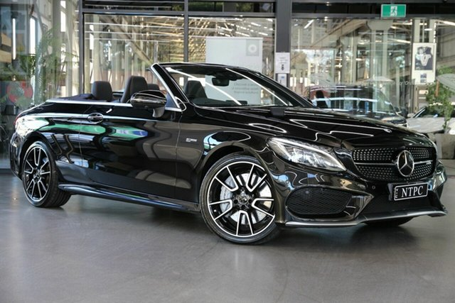 Used Mercedes-Benz C-Class C43 AMG 9G-Tronic 4MATIC, North Melbourne, 2018 Mercedes-Benz C-Class C43 AMG 9G-Tronic 4MATIC Cabriolet