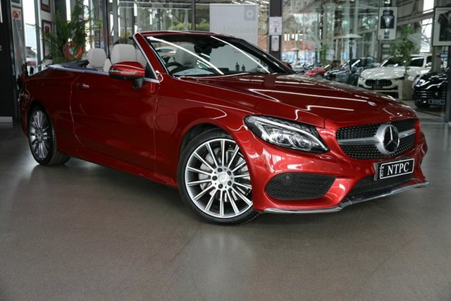 Used Mercedes-Benz C-Class C300 9G-Tronic, North Melbourne, 2016 Mercedes-Benz C-Class C300 9G-Tronic Cabriolet